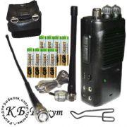 FM СиБи рация Егерь-3 в комплектации#2 с чехлом и батареями alkaline