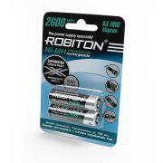 "2 шт. ""АA"" аккумуляторов с низким саморазрядом Robiton ready to use 2600 mAh"