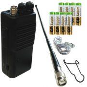 FM СиБи рация Tourist-6 в комплектации#1 с батареями alkaline (8 шт. ААА)